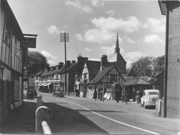 The High Street in 1950 and